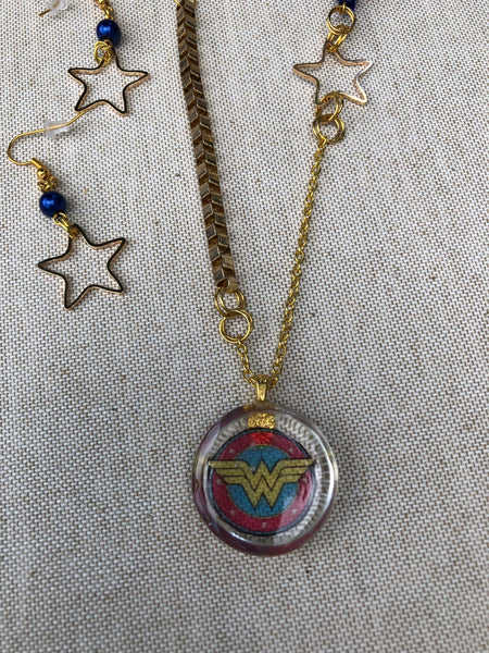 Wonder Woman Inspired Jewelry Set