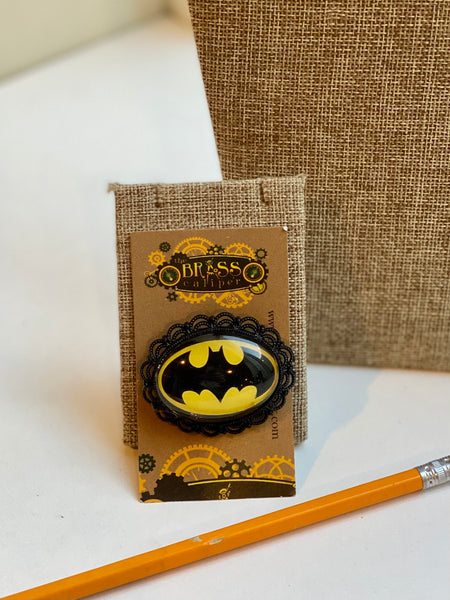 Batman Inspired Brooch