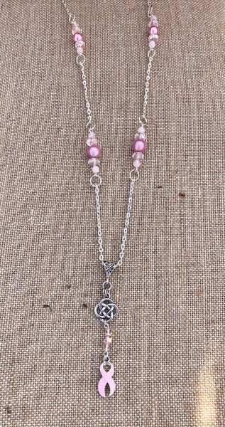 💗 Breast Cancer Awareness Necklace 💗