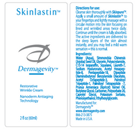 Skinlastin Ingredients contains Hyaluronic Acid and Peptides