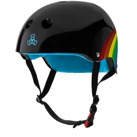 Casco The Certified Sweatsaver - Rainbow Sparkle Black