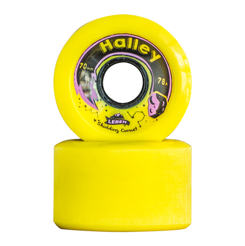 Halley Wheels 70 mm - 78 A
