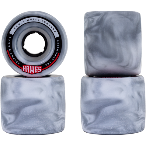 Fatty Hawgs 63mm 78A Blanco/Gris