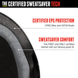 Casco The Certified Sweatsaver - Black Glossy