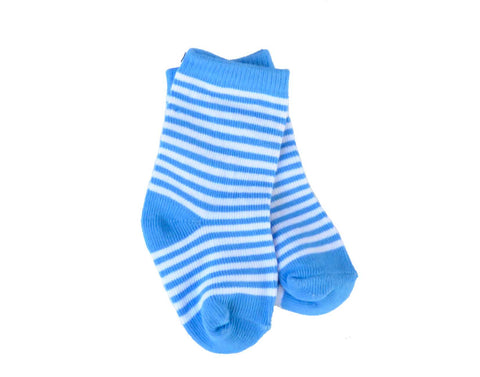 1 Pair of Baby Blue Socks