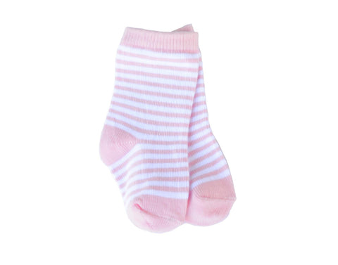1 Pair of Baby Pink Socks