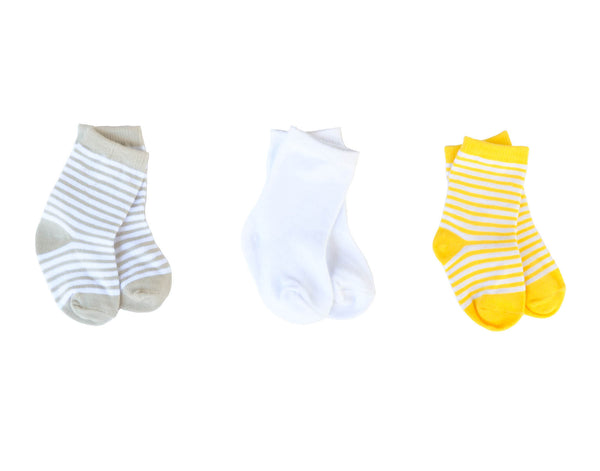 1 Pair of Unisex Baby Socks
