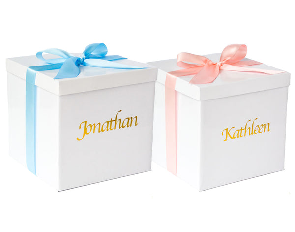 Personalised Baby Gift Packaging & Card