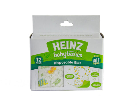 Heinz Baby Disposable Bibs