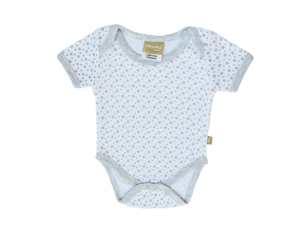 Baby Short Sleeve Organic Cotton Bodysuit