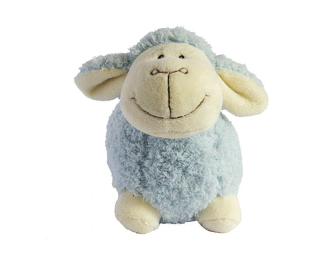 Baby Boy Blue Lamb Toy