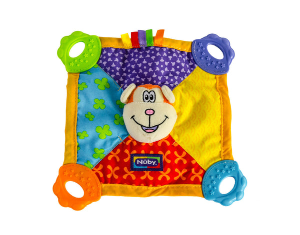 Nuby Baby Monkey Teething Blanket
