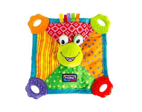 Nuby Baby Frog Teething Blanket