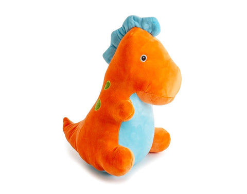 Orange T-Rex Plush Toy