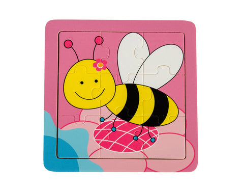 Bee Wooden Jigsaw Puzzle