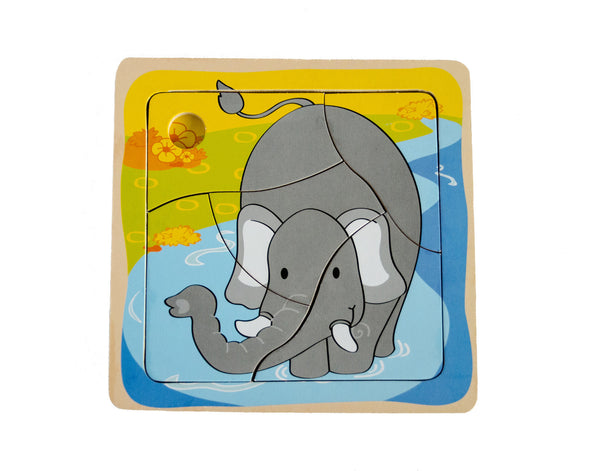 Baby Elephant Wooden Puzzle