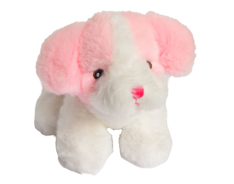 Pink Puppy Plush Toy
