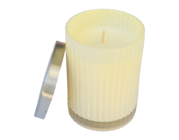 Premium Scented Jar Candle with Lid