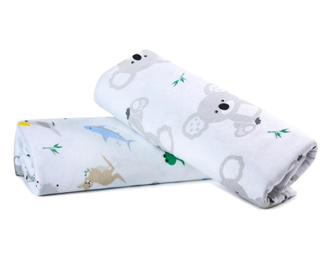 Baby Animals Swaddle Wrap (1 Piece)