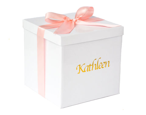 Personalised Baby Girl Gift Box