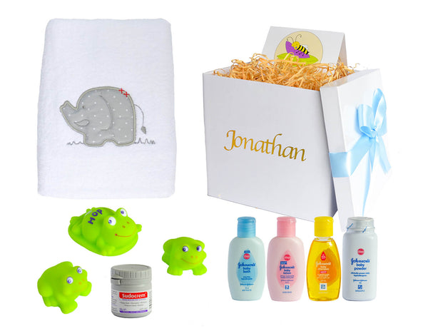 Luxury Bath Time Essentials Baby Gift Box