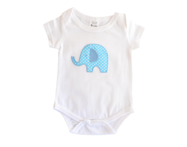 Baby Boy Elephant Bodysuit