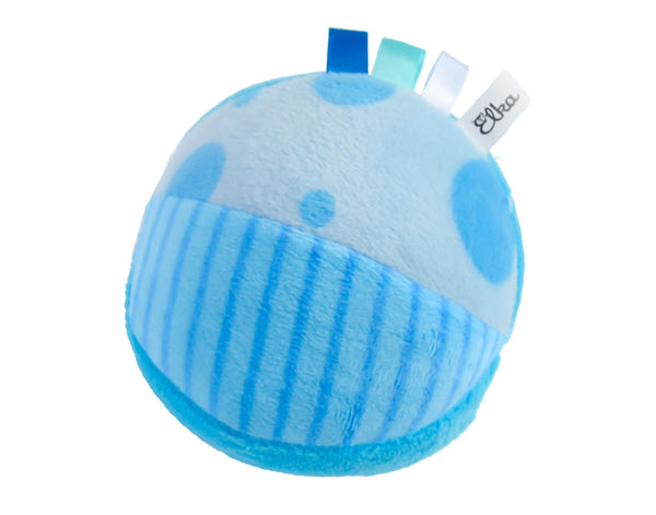 Blue Rattle Soft Ball
