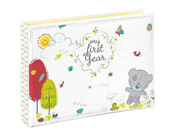 Baby keepsake photo album book
