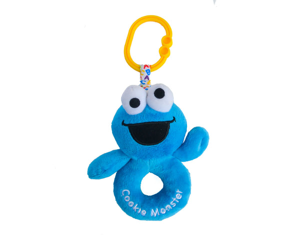 Cookie Monster Ring Rattle