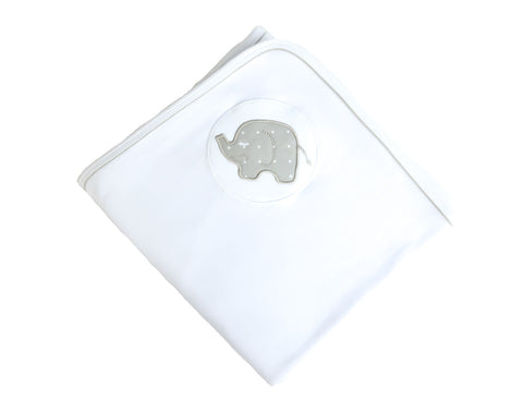 Elephant Jersey Swaddle Wrap
