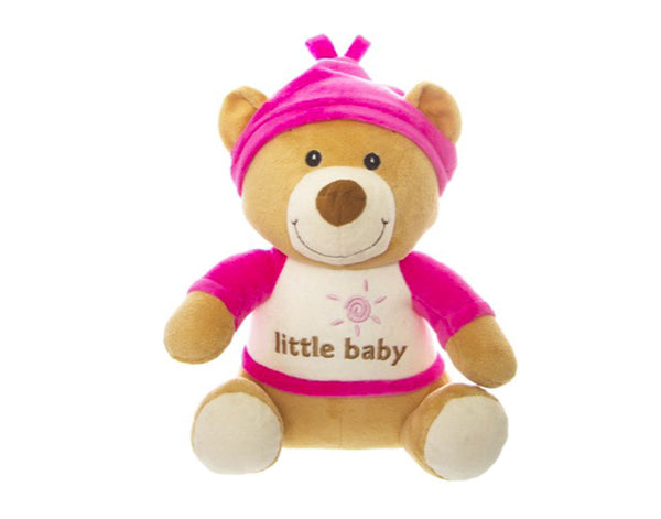 Plush Pink Nursery Teddy Bear