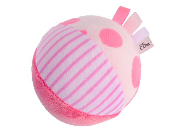 Pink Rattle Soft Ball