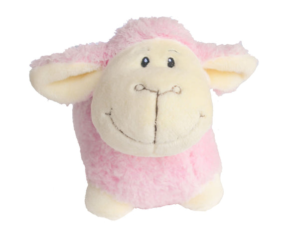 Baby Girl Pink Lamb Toy