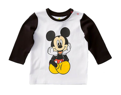 Mickey Mouse Baby Long Sleeve Shirt