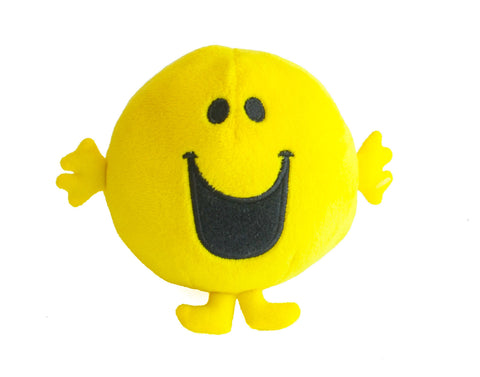 Mr Happy Beanie Plush Toy