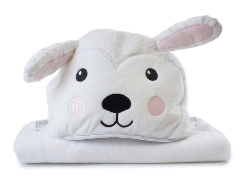 Sheep Large Plush Hooded Towel
