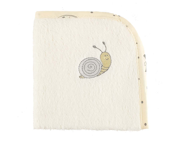 Snail Baby Wash Towel