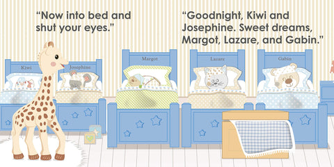 Sophie La Girafe Goodnight Sophie Book