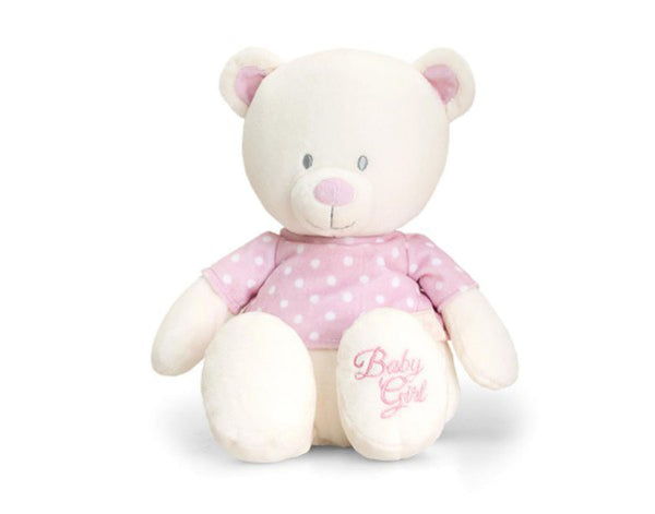 Baby Girl Embroidered Teddy Bear