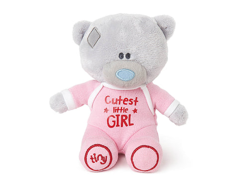 Cutest Little Girl Plush Bear
