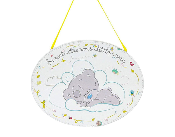 Tiny Tatty Teddy Sweet Dreams Wall Plaque
