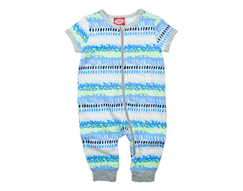 Cool Waves Baby Romper