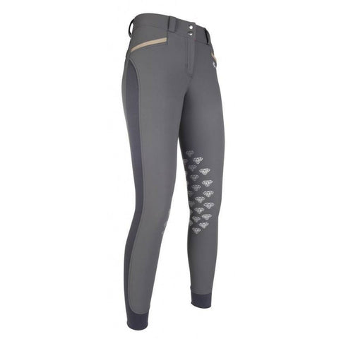 Diamonds Edition Silicone Knee Patch Breeches