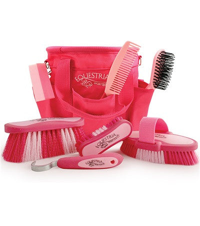 Equestria™ Sport Grooming Brush Kit - Hot Pink & Light Pink