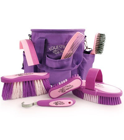 Equestria™ Sport Grooming Brush Kit - Purple & Pink