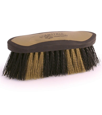 "Equestria™ ""Competition"" Sport Black & Gold Dandy Brush 7"""