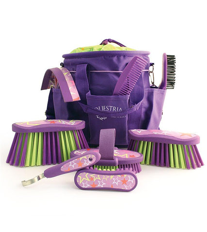 Equestria™ LUCKYSTAR™ Grooming Brush Kit - Blackberry Purple