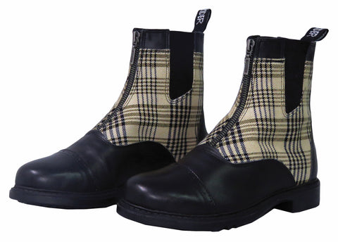 Baker Ladies Zip Paddock Boots - The Houndstooth Horse