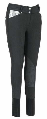 Baker Ladies Elite Breeches - The Houndstooth Horse  - 1