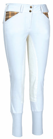 Baker Ladies Elite Full Seat Breeches - The Houndstooth Horse  - 1